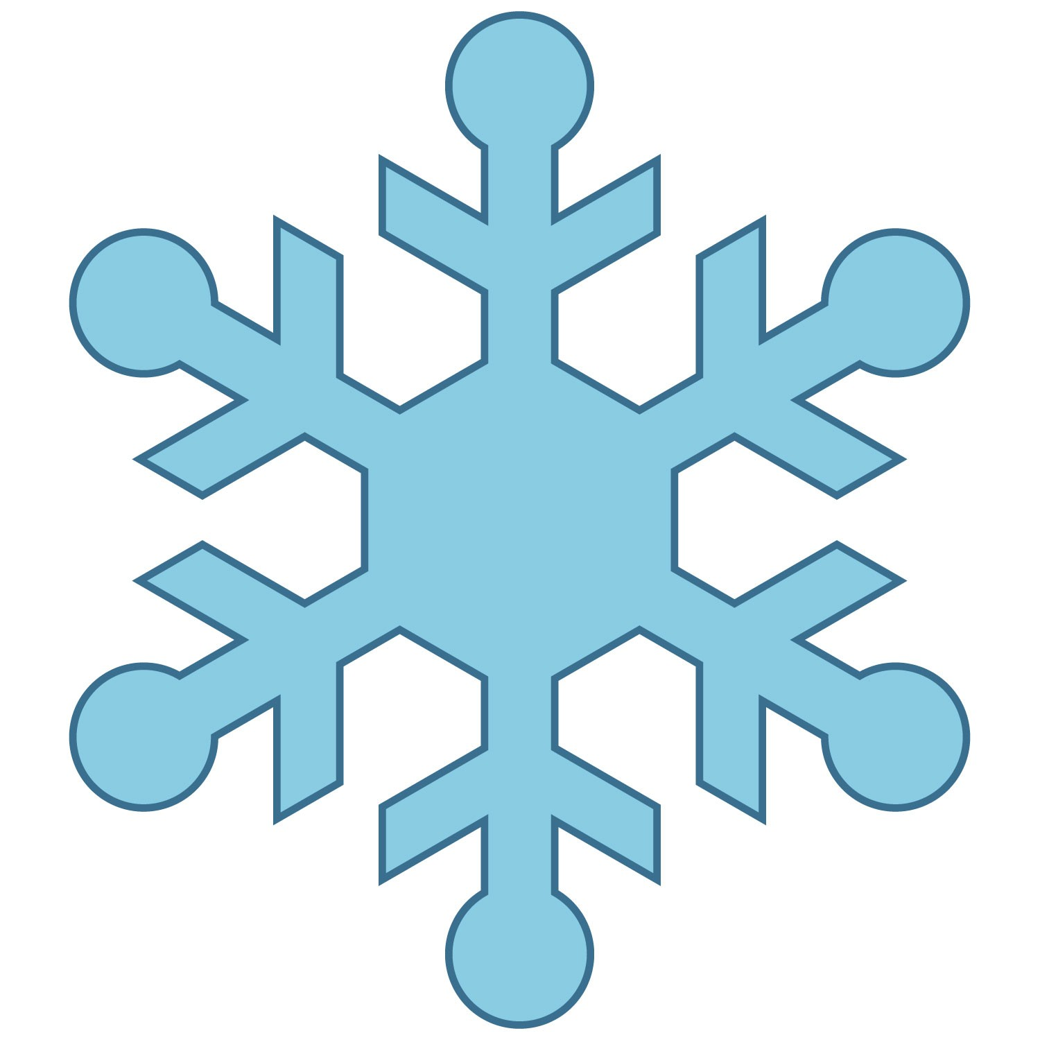 hight resolution of cute snowflake clipart snowman catching snowflakes clip art image