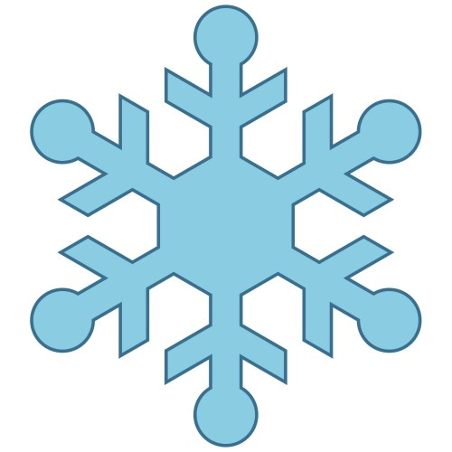 small resolution of cute snowflake clipart snowman catching snowflakes clip art image