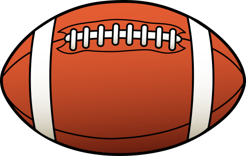 small resolution of football clipart black and white free clipart images 2