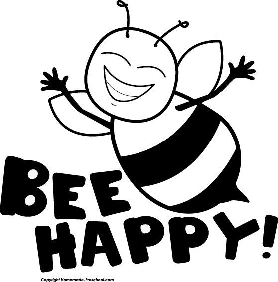 free bee clipart 7