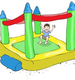 free bounce house clip art [ 1324 x 1200 Pixel ]