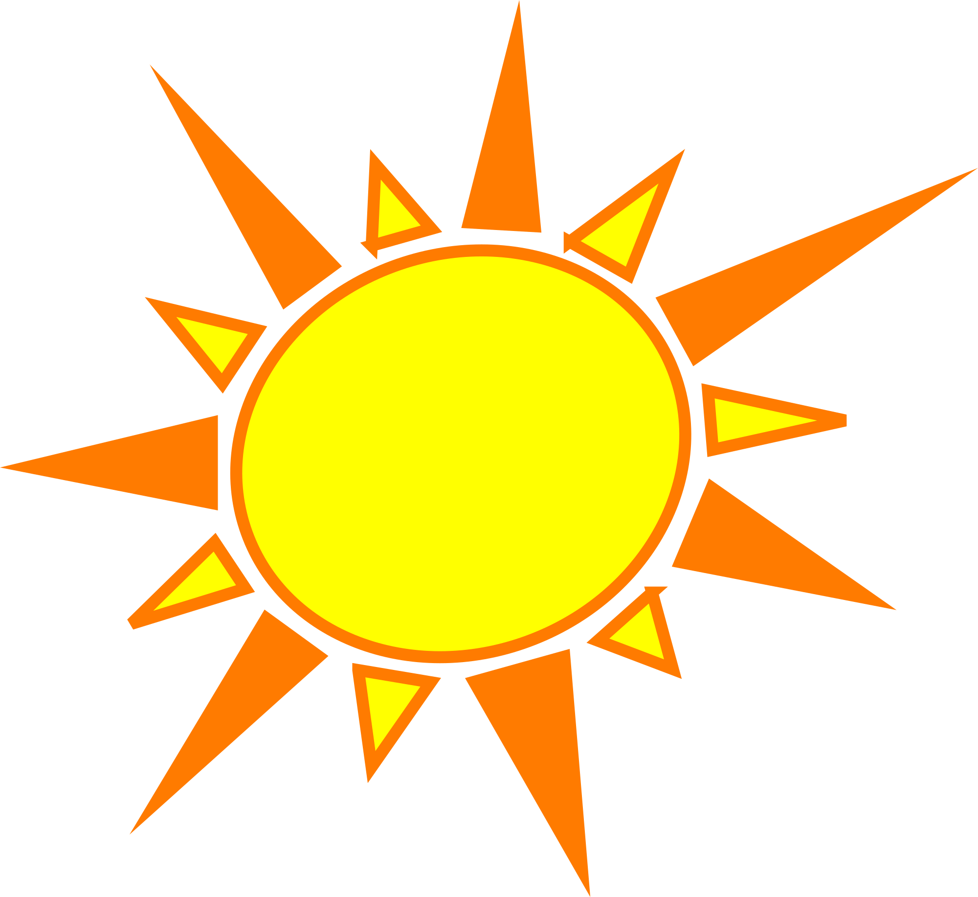 hight resolution of freeol sun clipart clipart and vector image