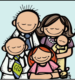 gallery for family clip art images free 2 clipartcow [ 1600 x 1519 Pixel ]