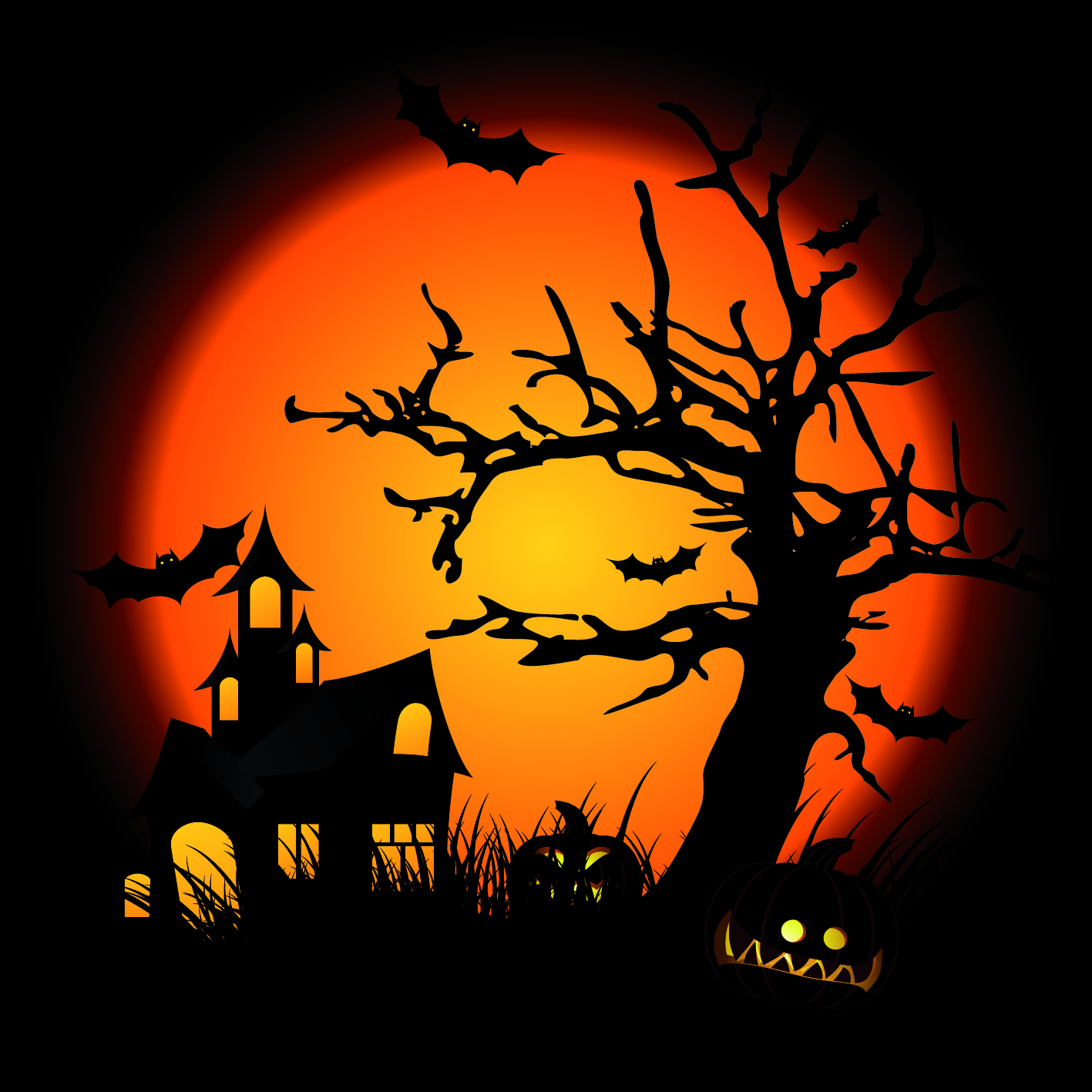 hight resolution of halloween clipart free