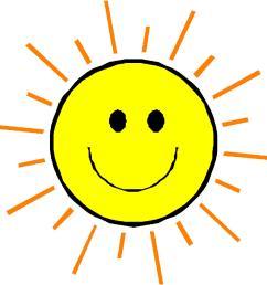 happy face sun clipart [ 1239 x 1222 Pixel ]