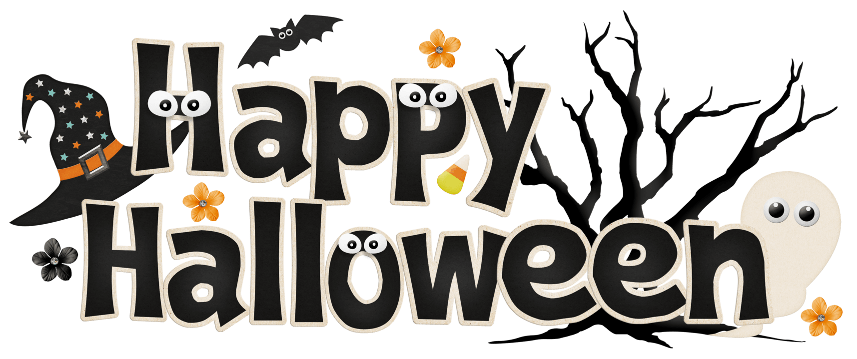 hight resolution of happy halloween clipart 3