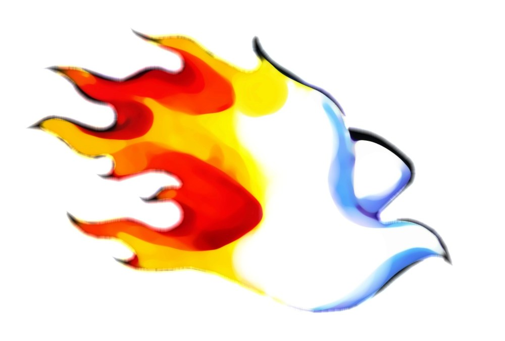 medium resolution of holy fire clipart