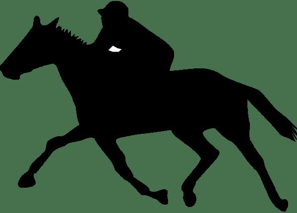 horse racing clip art illustrations