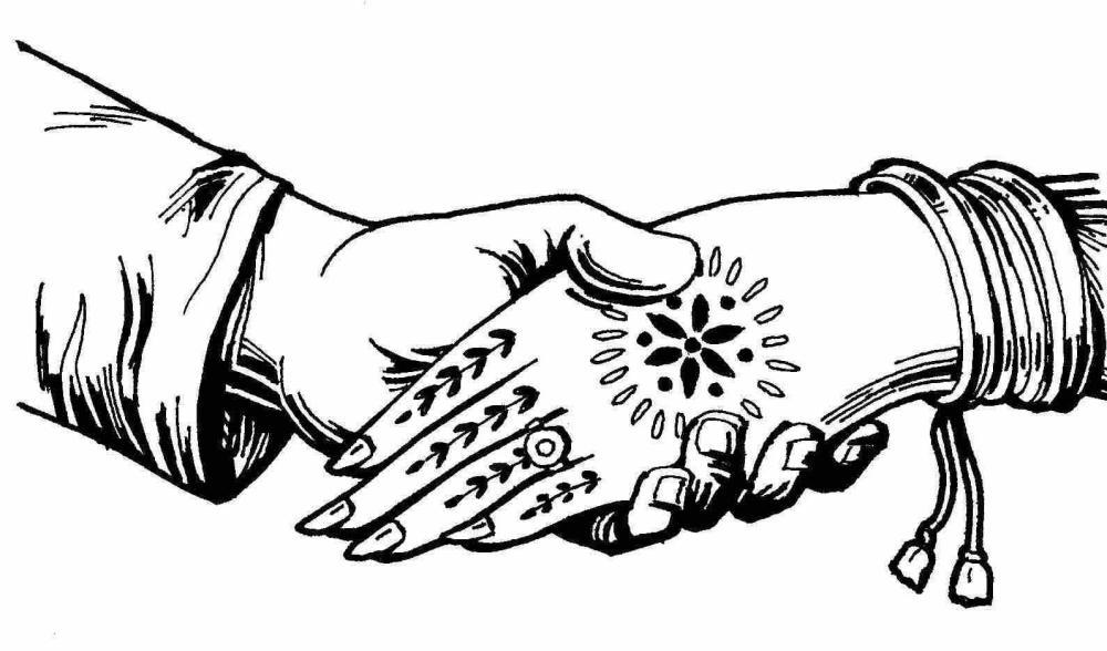 medium resolution of indian wedding clipart