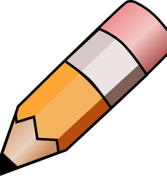 pencil clip art black and white free clipart images 2 [ 900 x 876 Pixel ]