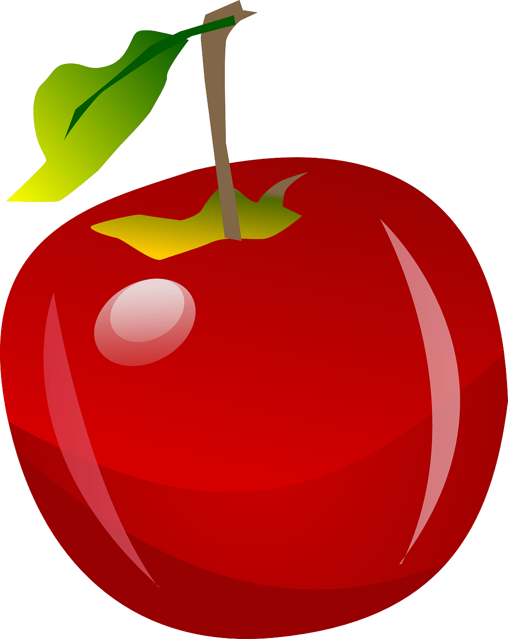 hight resolution of red apple clipart clipartcow