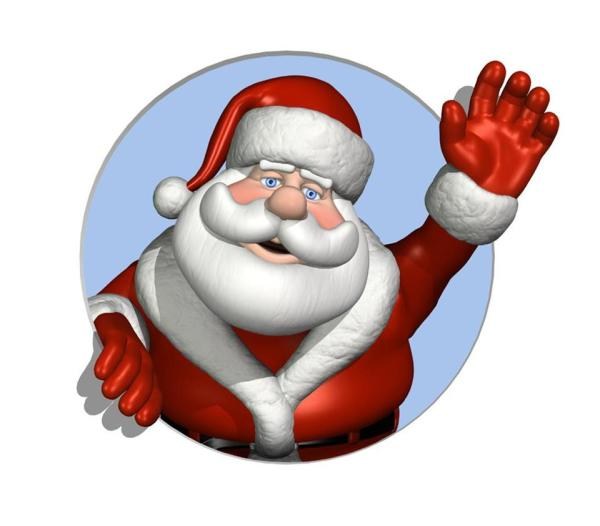 Christmas Santa Claus Clip Art