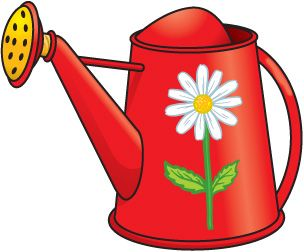 spring watering clip art holidays