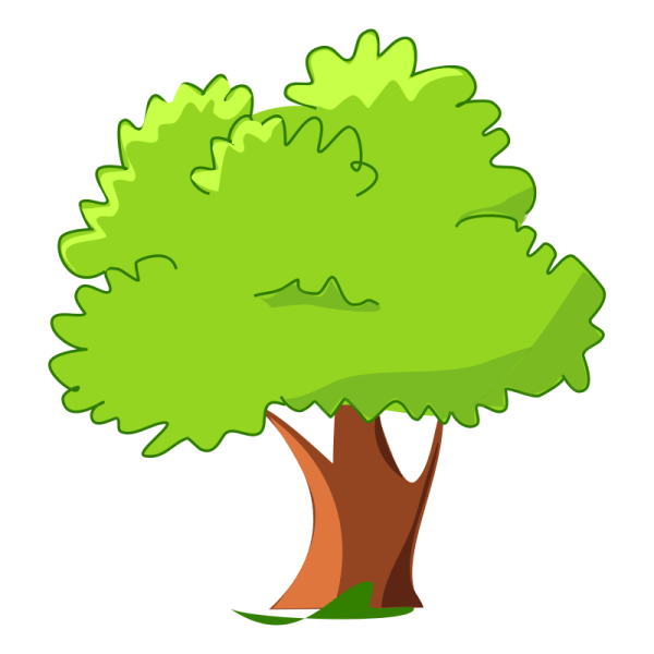 Cartoon Tree Clip Art Web Clipart