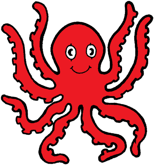 small resolution of animated octopus clipart