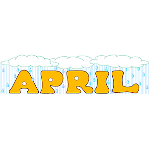 free april clip art
