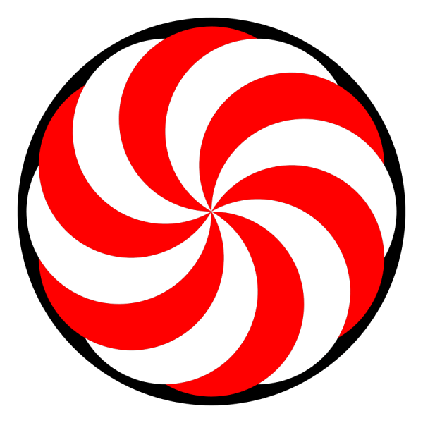 candy peppermint clipart
