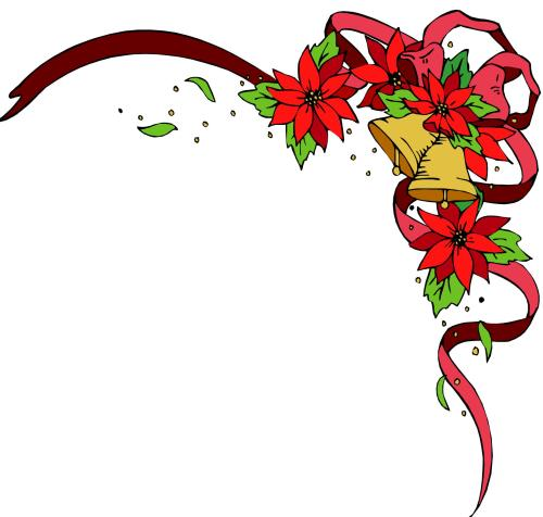 small resolution of christmas border christmasrner border clip art free clipart images 2