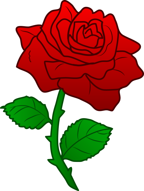 small resolution of clipart flower rose free clipart images