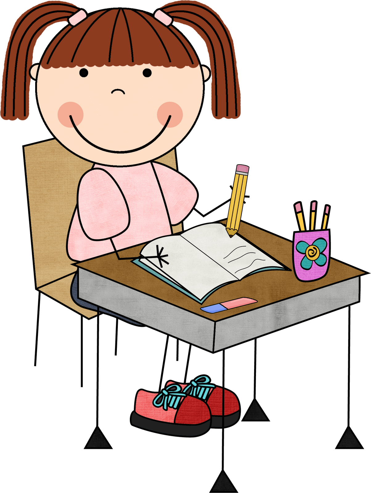 hight resolution of free writing clip art clipart image 2