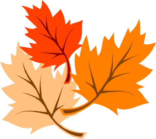 small resolution of fall leaves clip art image 6244