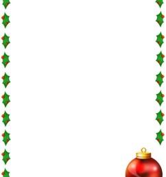 merry christmas border clipart [ 850 x 1100 Pixel ]