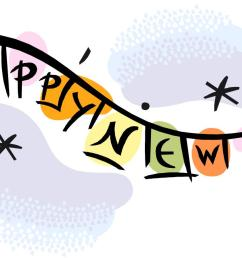 microsoft office happy new year clipart clipart free clipart image [ 1472 x 765 Pixel ]