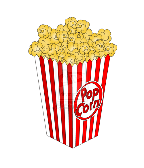 small resolution of movie reel and popcorn and ticket clipart clipart