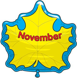 november clip art free clipart