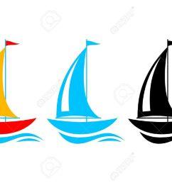 sailboat clipart vector sailboat vector download vectors [ 1300 x 919 Pixel ]