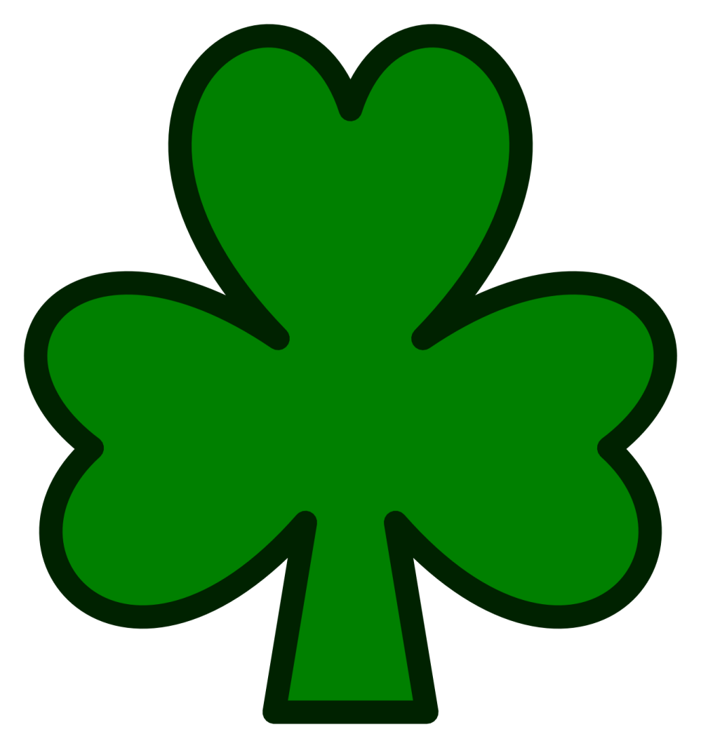 medium resolution of shamrock clip art for teachers free clipart images