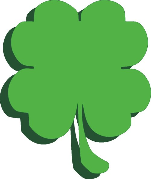 small resolution of shamrock free st patrick clip art clipartix 2