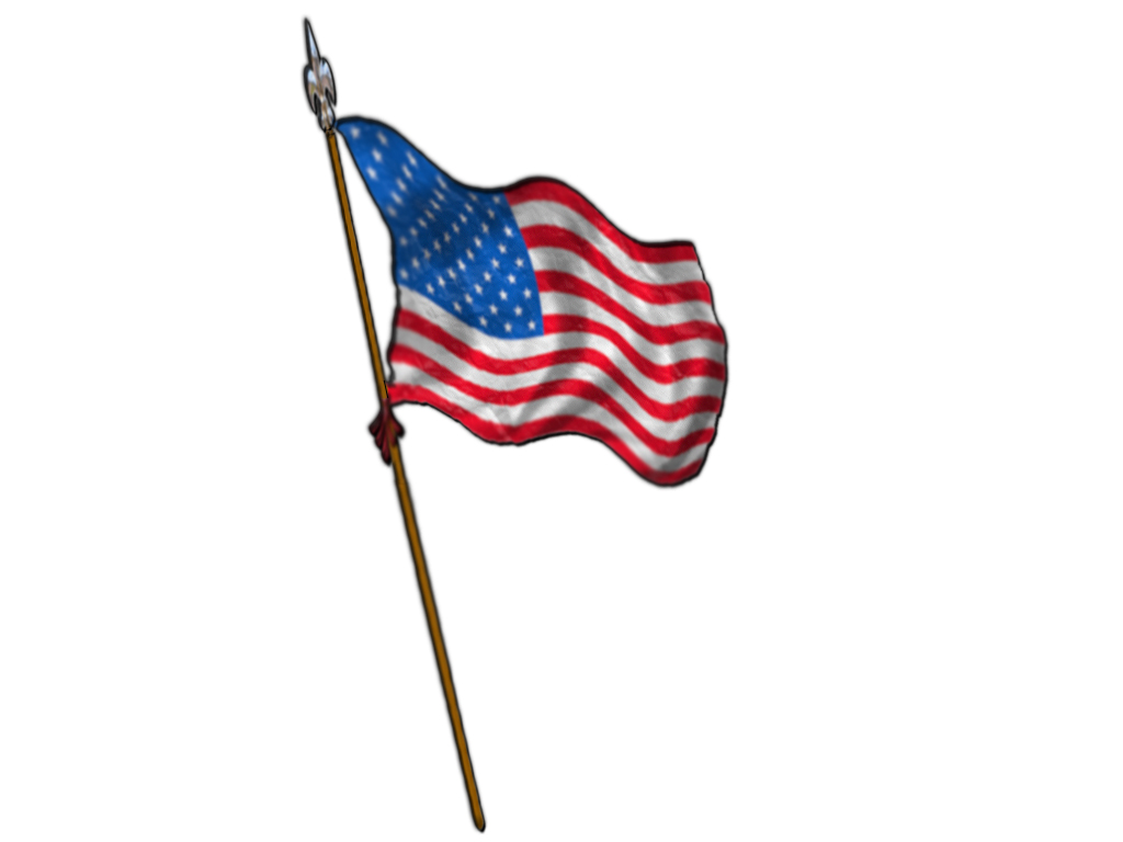 american flags clip art