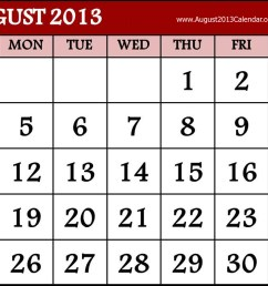 august calendar clipart clipart kid [ 1200 x 900 Pixel ]