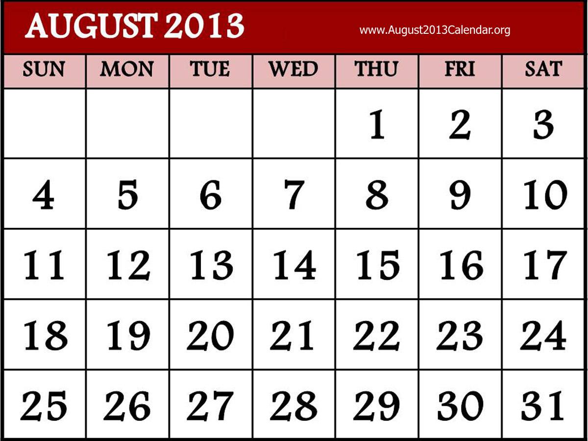 hight resolution of august calendar clipart clipart kid