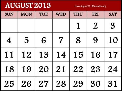 small resolution of august calendar clipart clipart kid
