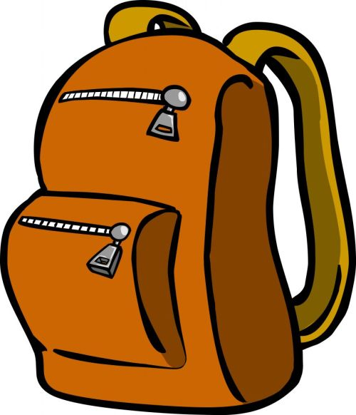 small resolution of backpack clipart graphic free travel bag stock image image