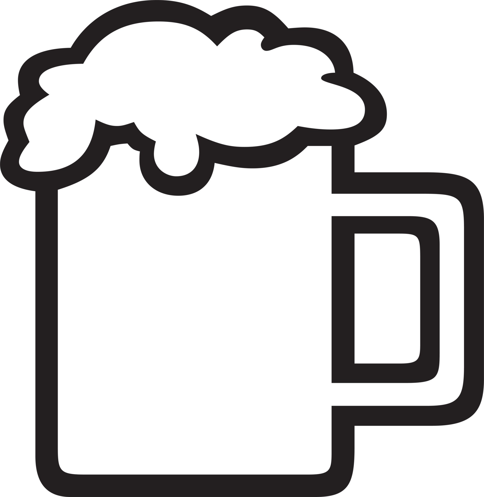 hight resolution of beer clipart image 13133