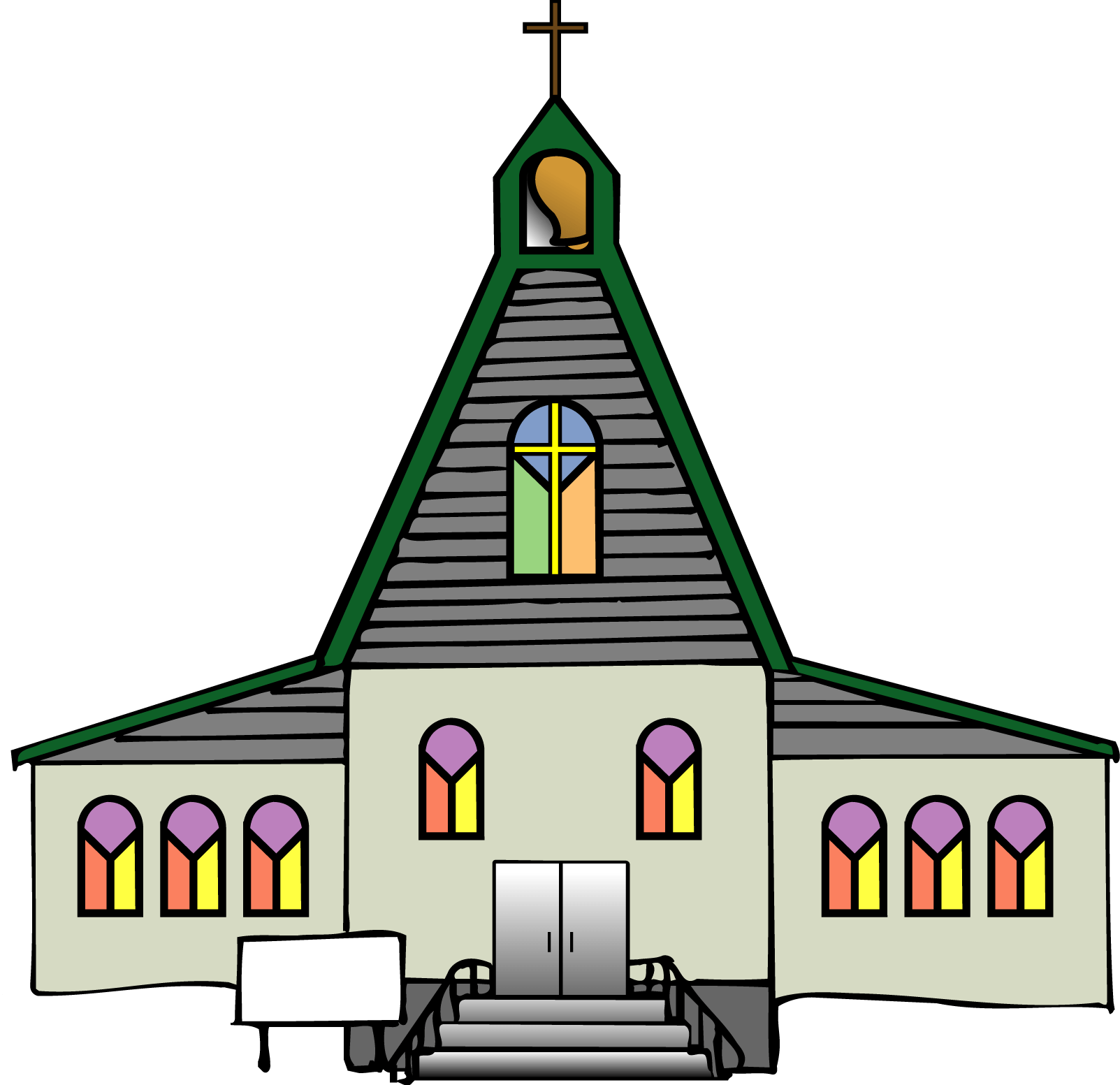 hight resolution of black church clip art free clipart images 5