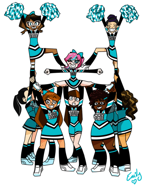 small resolution of cheerleader cheerleading clipart stunts free clipart images 4