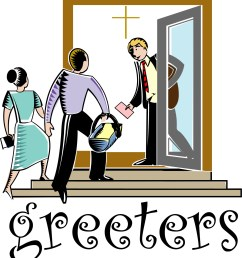 church greeters clipart [ 1524 x 1685 Pixel ]