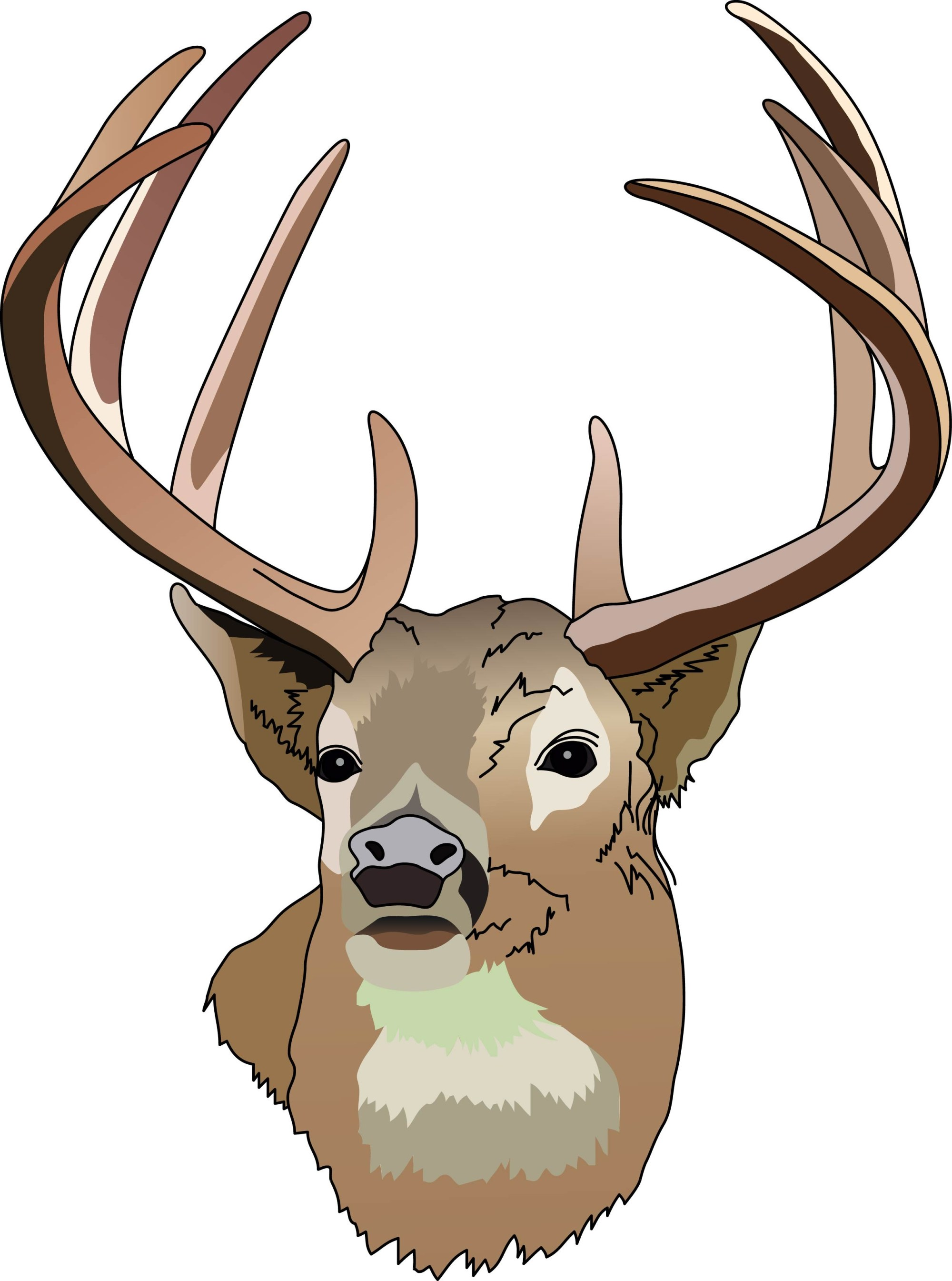hight resolution of deer hunting clipart free clipart images