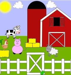 farm clipart image 15740 [ 1500 x 1500 Pixel ]