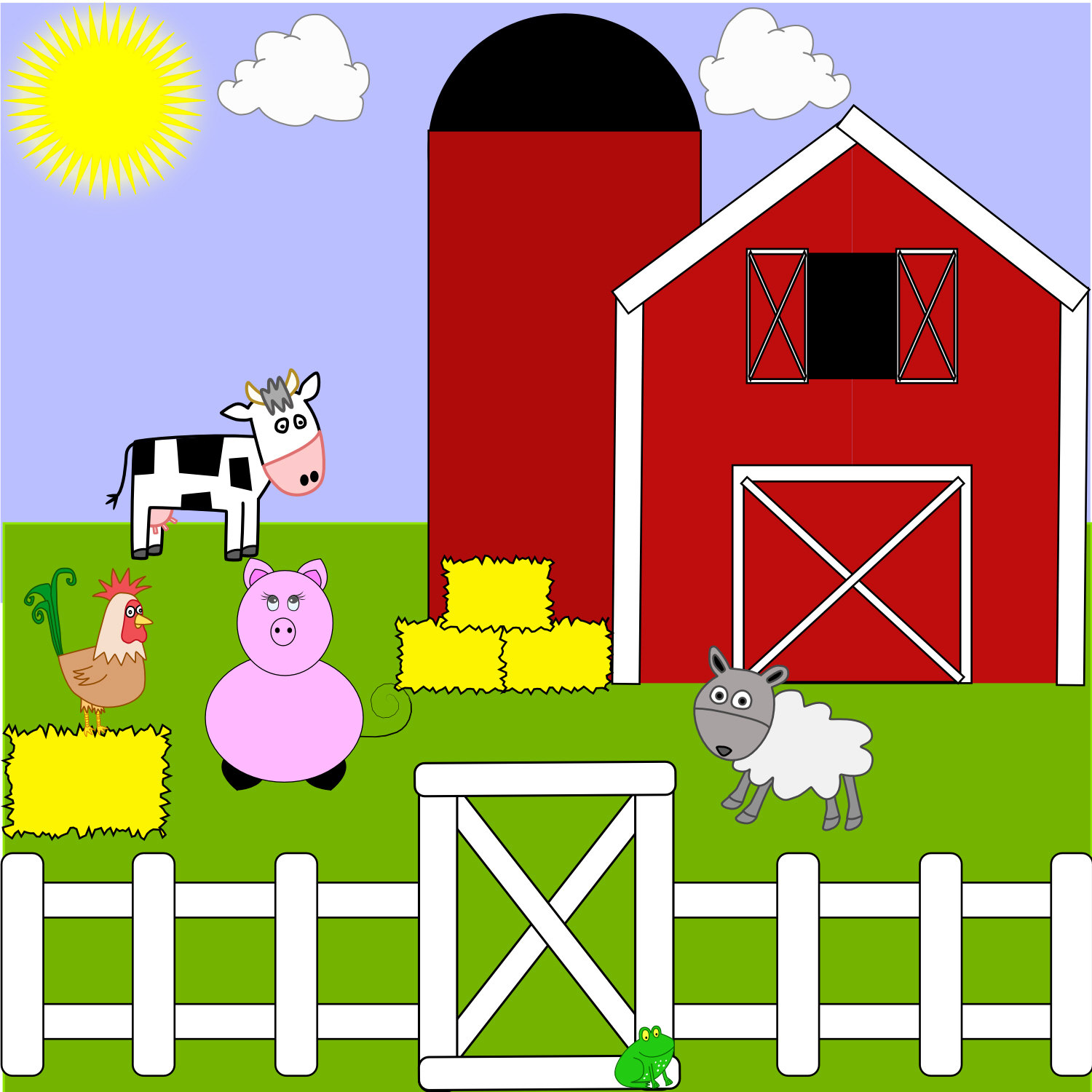 hight resolution of farm clipart image 15740