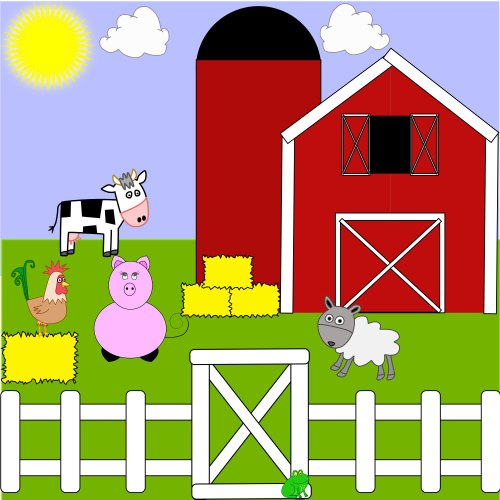 small resolution of farm clipart image 15740