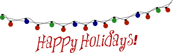 free happy holidays clipart
