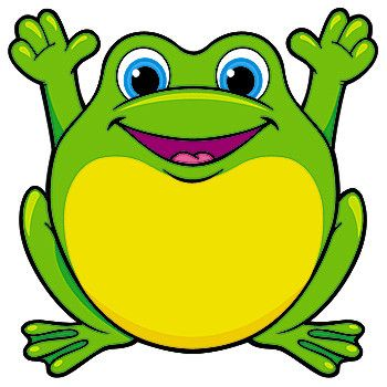 frog clipart 1
