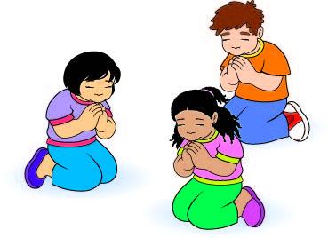 image of children praying