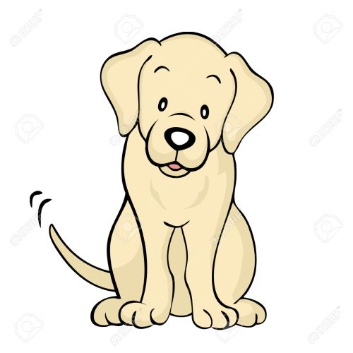 small resolution of labrador puppy clipart