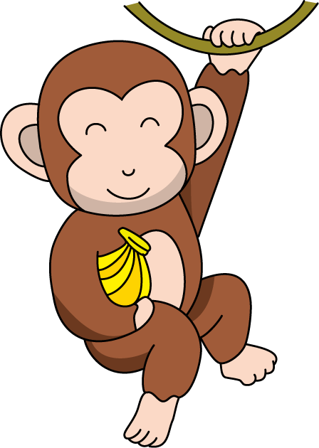 monkey clipart animal clip
